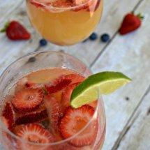 Sparkling Fruit Sangria