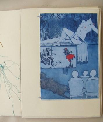 Unrefined Anatomies handmade Artist Book