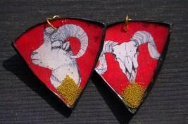 Ram Life Cycle earrings