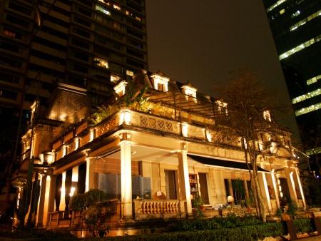AROS SAO PAULO / SP 27/08/07 GUIA ILUMINACAO / CASA DAS ROSAS. Nova iluminacao da Casa das Rosas, na av. Paulista. FOTO EVELSON DE FREITAS / AE