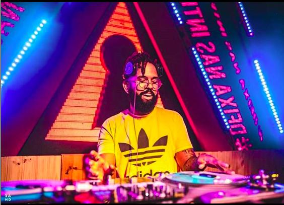 Na pista com o DJ Bruno X