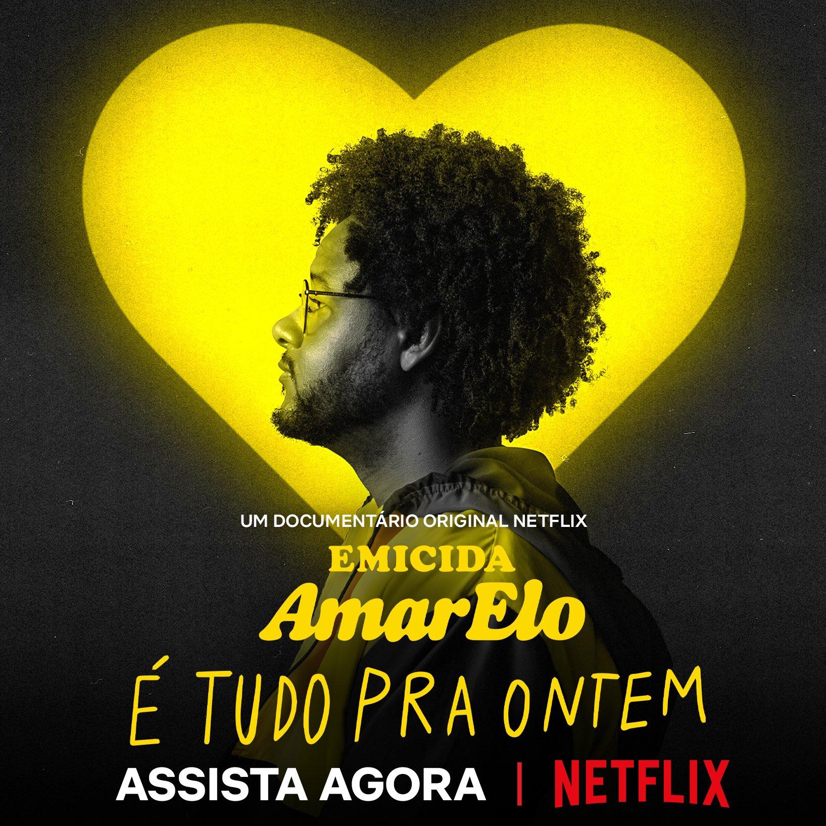 """Com """"AmarElo – É  Tudo Pra Ontem"""", Emicida, resgata história e renova esperança"""
