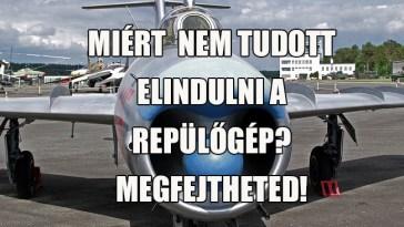 rejtélyes repülőgéphiba