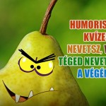 humoristák kvíze