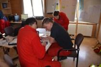 Lage-Kontroll-Zentrum im Oberland
