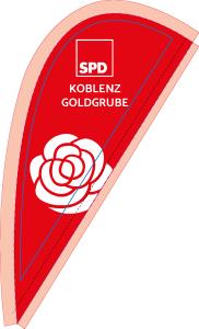 Tischfahne SPD