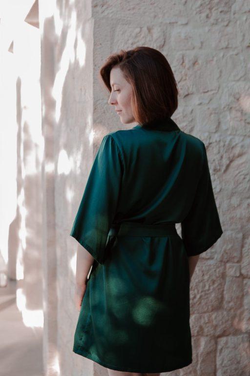 Short Sleeve Robe