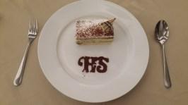 Menu dessert (Tiramisu Cake)
