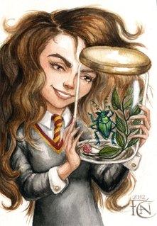 Hermione_and-rita-sketch-Felicia_Cano