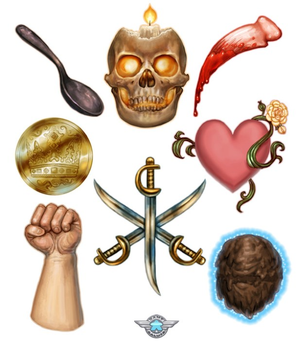 Various Game Icons ©Game Salute, Digital