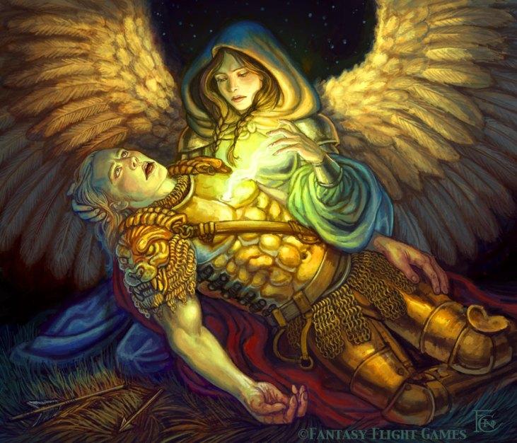 Angel of Mercy for Talisman ©Games Workshop, Digital