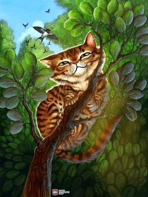 Cat for Ravenous River ©AEG, Digital