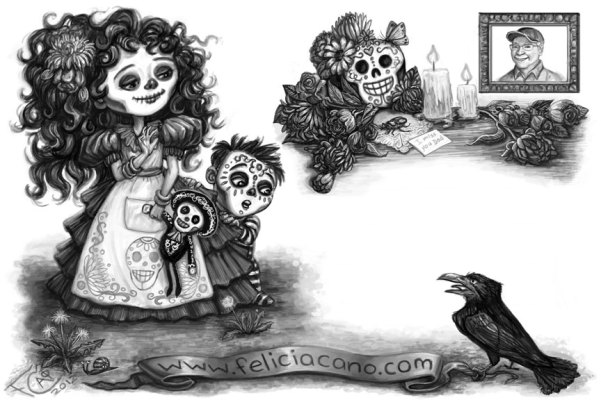 Day of the Dead Back Final, Digital