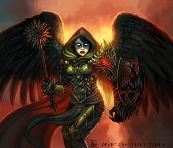 Fallen Angel for Talisman ©Games Workshop, Digital