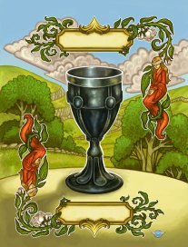 A Battle of Wits Goblet Card ©Game Salute, Digital