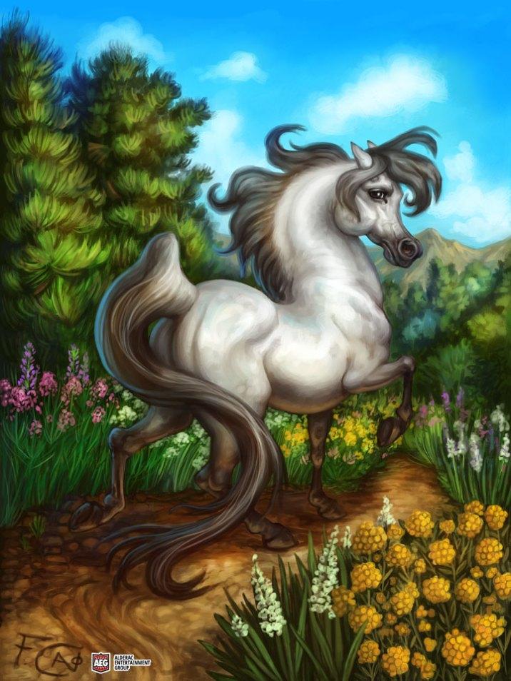 Horse for Ravenous River ©AEG, Digital