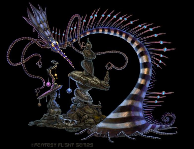 Porcupine for Cosmic Encounter ©Fantasy Flight Games, Digital