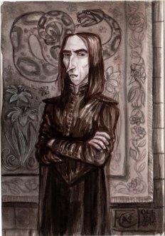 Professor Snape for Inktober