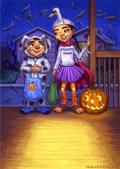 The Halloween House Page 5 ©Learning A-Z, Digital