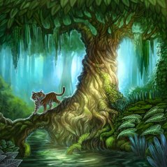 Tree for Tiger Stripes ©Game Salute, Digital