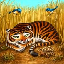 Tortoise Board for Tiger Stripes ©Game Salute, Digital