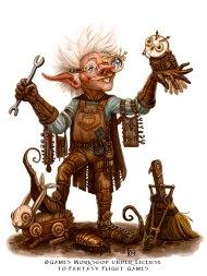 Tinkerer for Talisman ©Games Workshop, Digital
