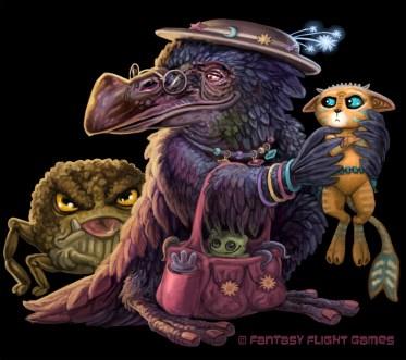 Nanny for Cosmic Encounter ©Fantasy Flight Games, Digital