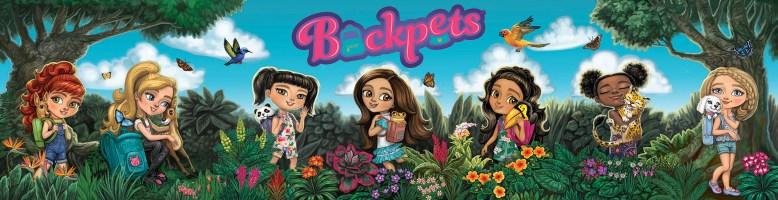 Backpets Widow Display ©Treehouse Kids, Digital