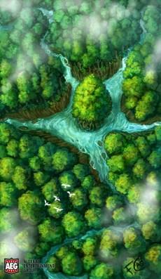 Earth Cradle for Mystic Vale ©AEG, Digital