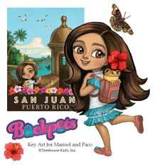 Ket Art for Marisol and Paco Digital ©Treehouse Kids