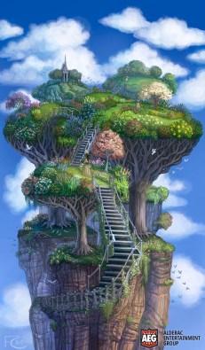Sky Garden for Mystic Vale ©AEG, Digital