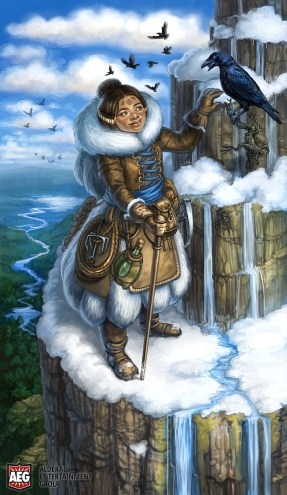 Taeda- The Wanderer for Mystic Vale ©AEG, Digital