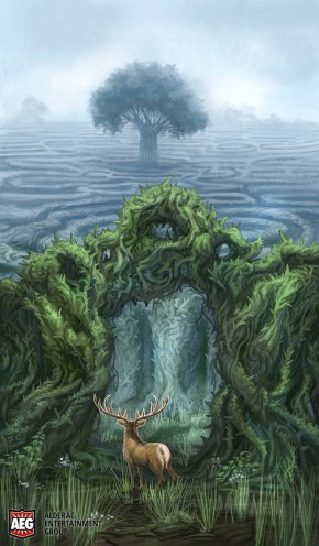 Tanglewood Labyrinth for Mystic Vale ©AEG, Digital