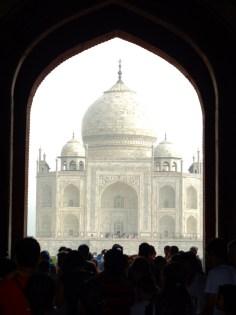 I feel Taj Mahal very magical everytime I look into this angle