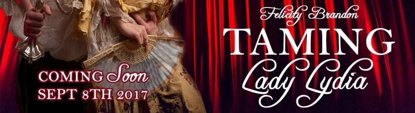 Taming Lady Lydia banner LN