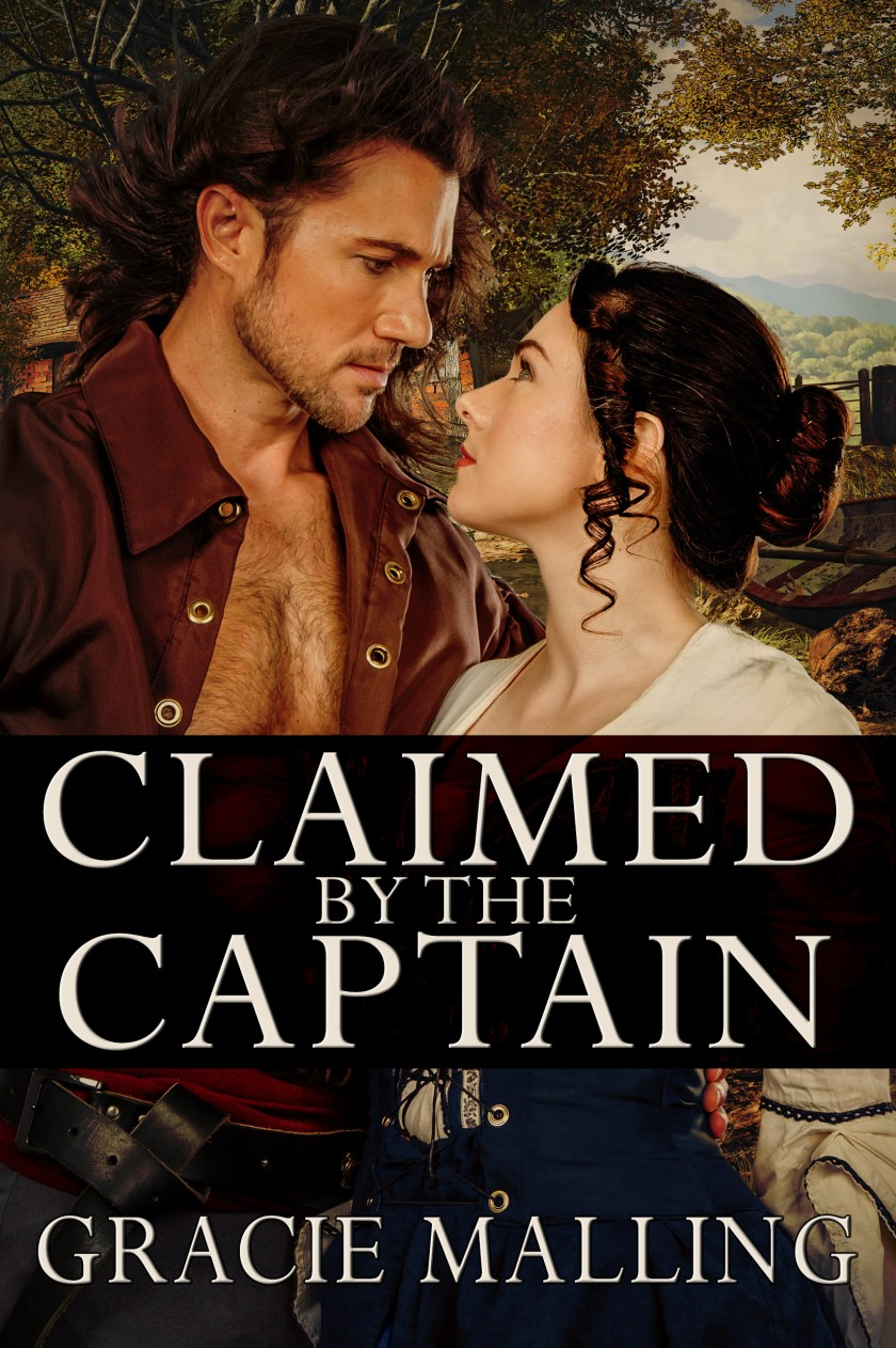 Claimed by the Captain - GM cover