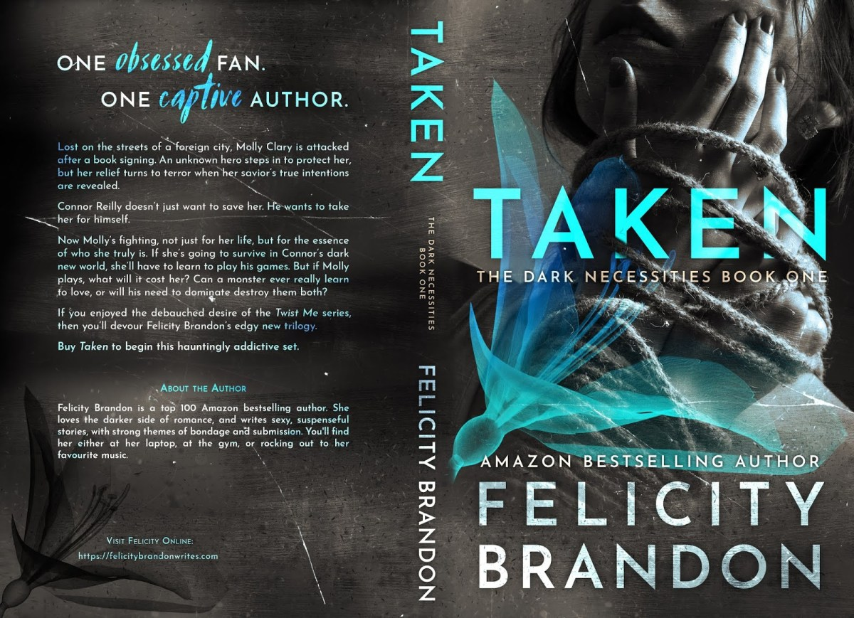 Taken is LIVE! My first indie book is LIVE!