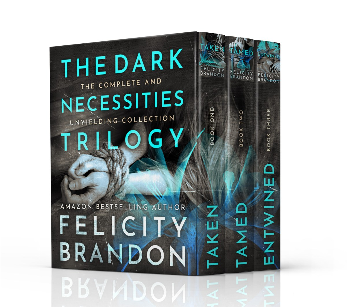 The entire Dark Necessities trilogy, for #FREE!