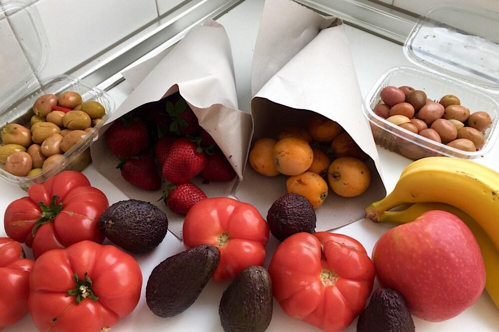 Barbate fruit