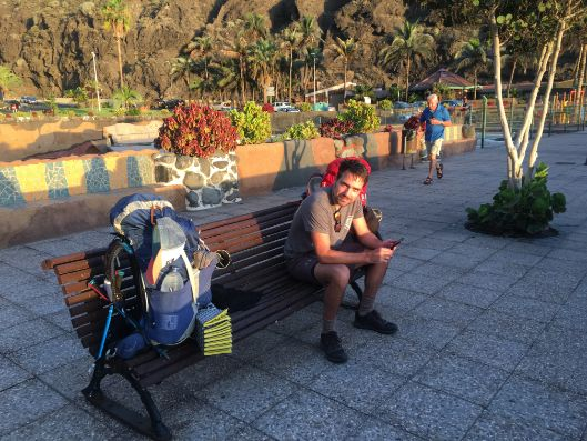 La Palma,European hiking trail,GR131,European hiking trail, GR131,Mt Teide,Teneriffe, volcano, Tenerife volcano, travel blog, travel blogger, Felicity Macintosh, alter ego, walking, hiking, Tenerife hiking, La Palma, canaries, Canary Islands, Mount Teide, Nutella,Mirador de El Time, Tazacorte, Puerto Tazacorte, Puerto Tazacorte Beach, Puerto Naos,Playa de Charco Verde, banana plantation, Santa Cruz, H10 La Palma,