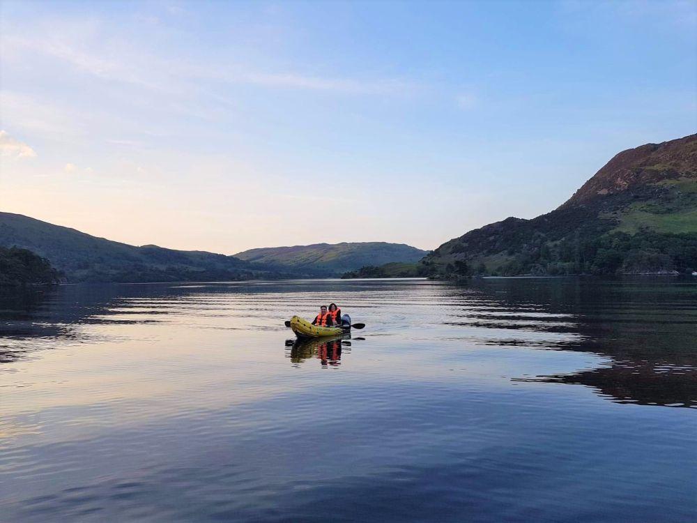 Kayaking Lake Distrcit