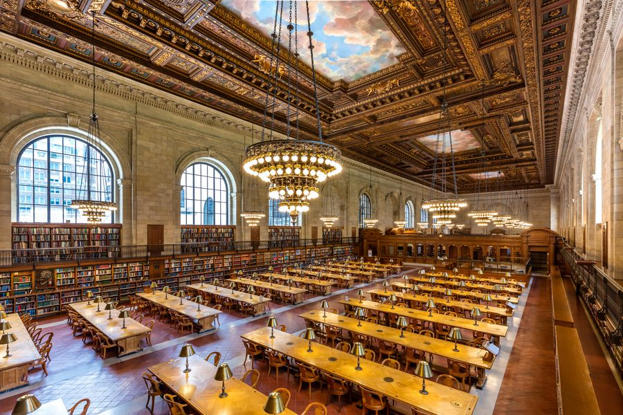 The New York Public Library reopens the Rose Main Reading Room