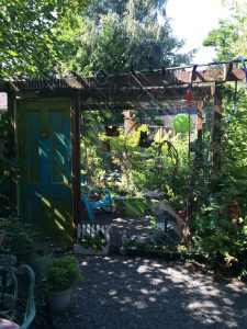 The Green Garden Getaway catio is a fairy-tale wonderland for Doodlebug and Sweetpea! ($300)
