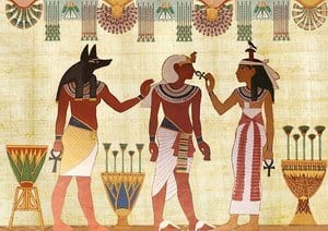 image of ancient Egyptian gods