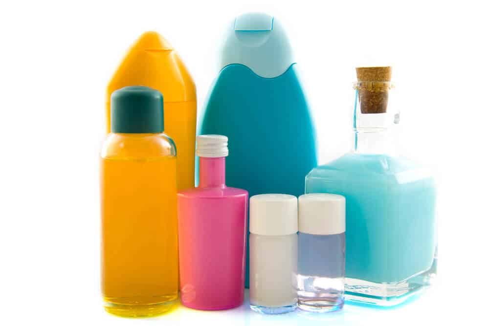 image of various bath products
