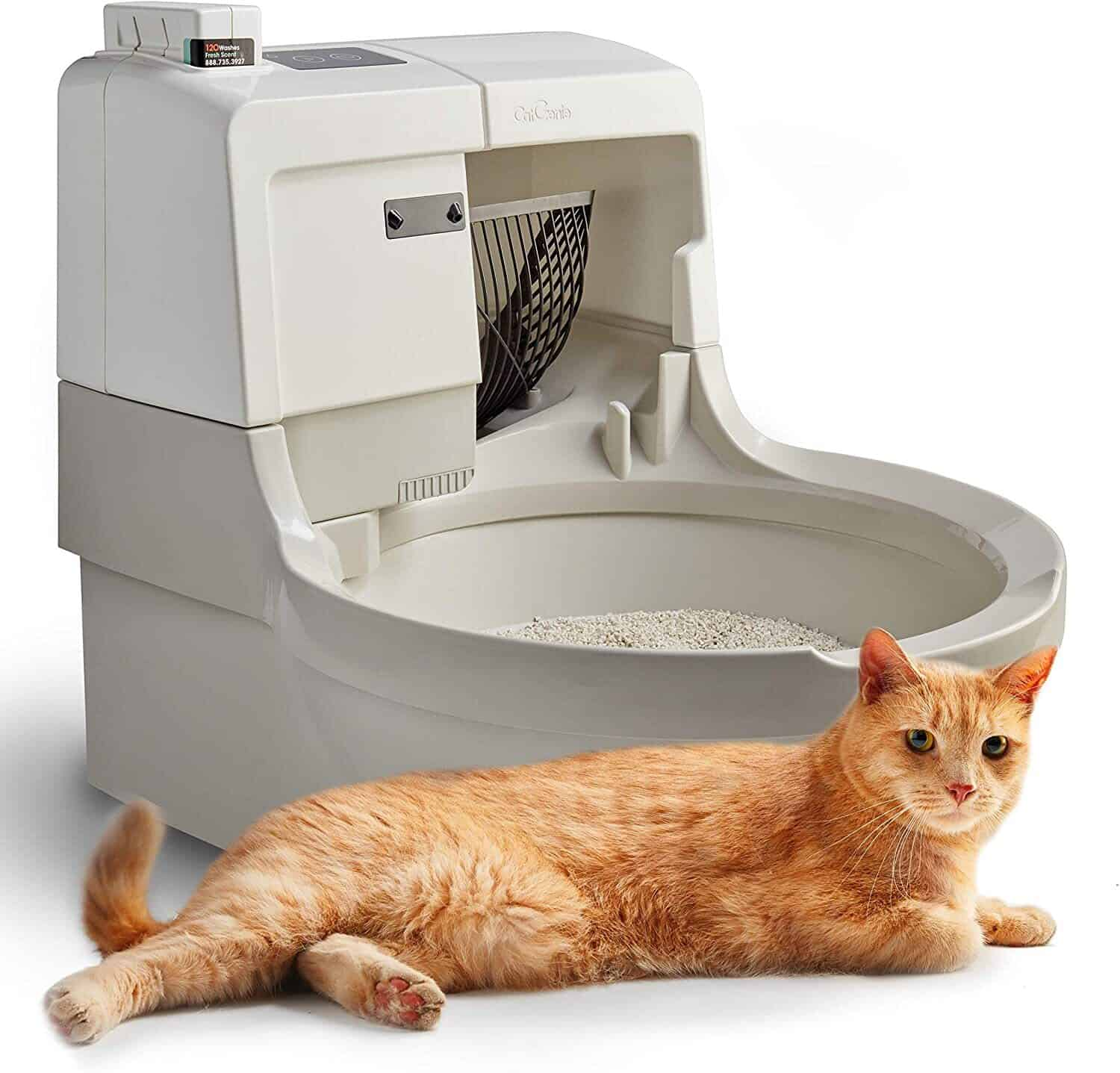Top 7 Best Automatic Litter Box For Self Cleaning [2021 Update] 3