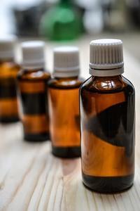image of a tea tree oil bottle