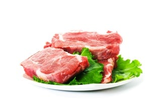 image of a plate with meat