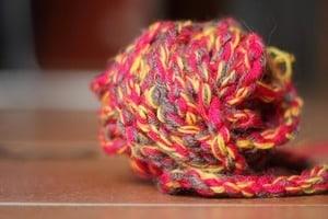image of a yarn ball