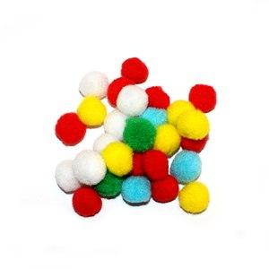 image of pom poms